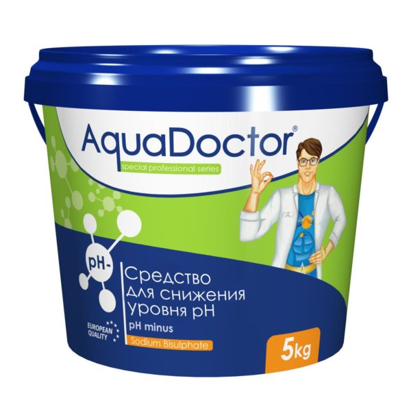 pH-минус гранулы AquaDoctor, 5 кг